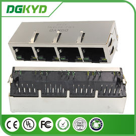 Multi Port RJ45 Integrated Magnetics 8P8C การสื่อสารแบบ PCI Express